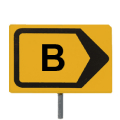 02694-deviation-road-sign